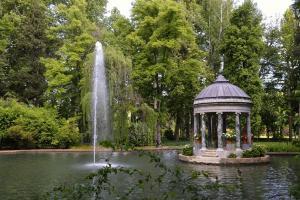 Ruta árboles singulares Jardines del Real Sitio de Aranjuez. 20 mayo 2018.