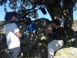 Susana explicandonos la bilogía del Quercus
