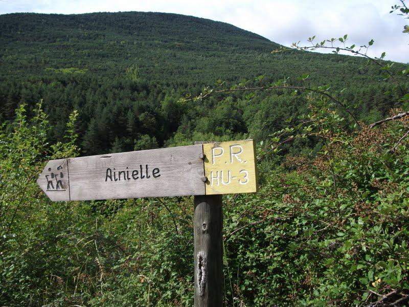 Pueblo de  Ainielle.